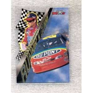 1999 Wheels Runnin and Gunnin RG9 Jeff Gordon (NASCAR Racing Cards