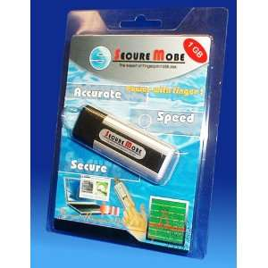 Secure Mobe Fingerprint USB flash disk 1GB