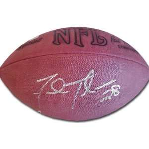 Fred Taylor Autographed NFL Game Model Football  Sports