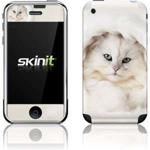 White Persian Cat skin for Apple iPhone 2G Electronics