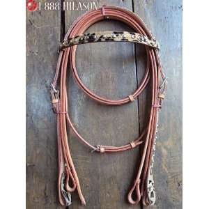 Hair On Bridle Headstall & Reins