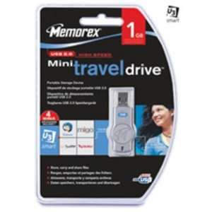 Memorex 1GB Mini TravelDrive USB Flash Drive