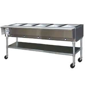 Steam Tables Eagle (SPDHT5 240) 81 1/2 Portable Hot Food Table