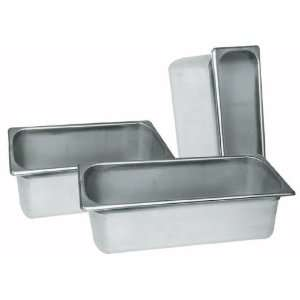 Steel Full Size Steam Table Pan   4 Deep (24 gauge)
