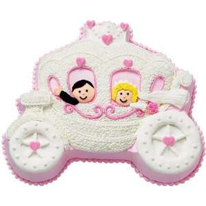 Novelty Cake Pan Princess Carriage