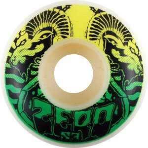 Zero Serpents 53mm Skateboard Wheels (Set of 4)  Sports