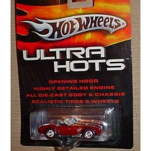 SHELBY COBRA 427 (RED) Hot Wheels 2005 ULTRA HOTS 164 Scale Die Cast