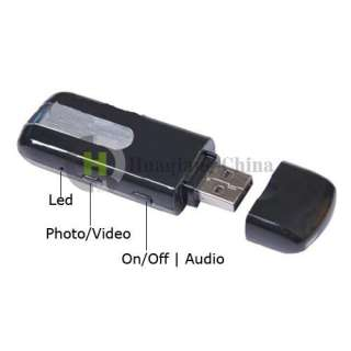 HD Mini USB Flash Disk Spy DVR Motion Detection Camera Webcam Cam