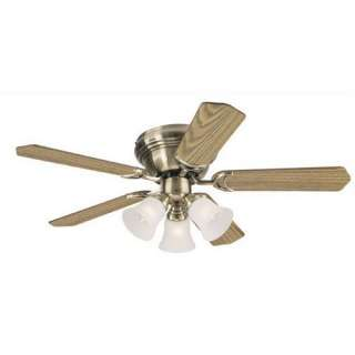 Westinghouse Lighting 42 Contempra Trio Ceiling Fan in Satin Brass