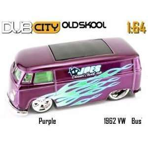Jada Dub City Oldskool Joes Diecast Shack 1962 VW Bus Toys & Games