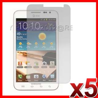 5X ANTI GLARE MATTE LCD SCREEN PROTECTOR COVER FOR AT&T SAMSUNG GALAXY