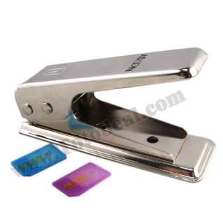 Convert standard sim card (15*25mm) to micro sim card(12*15mm) with