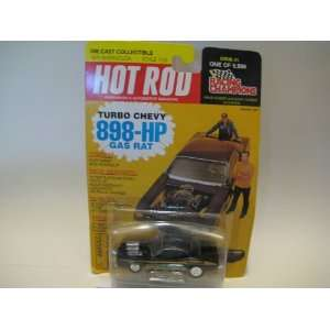 Racing Champions Hot Rod Turbo Chevy 898 hp Gas Rat 1970
